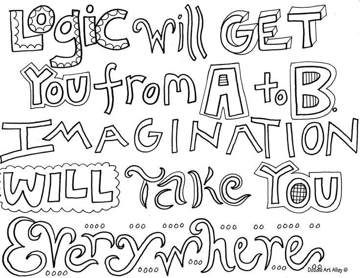 Logic Coloring Pages Pinterest