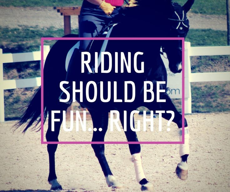 Absolutely. If there isn't any fun, what is there, really? The only thing you have to keep in mind is how you define fun at different points in your riding career. Just like anything worth do…