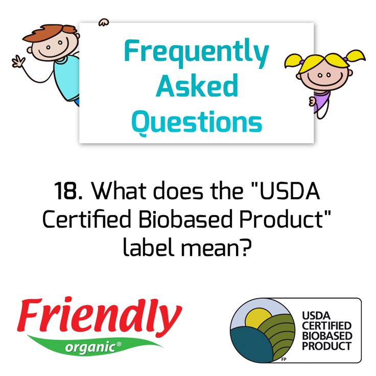 This certification by the US government indicates that our products use a high percentage of renewable, and plant-based ingredients!  This is the most sustainable choice.