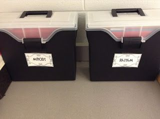 New Ideas for organization and management in the music room!