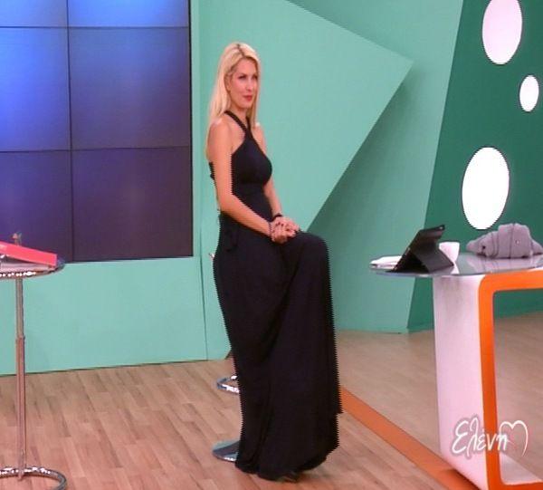 Ελένη Μενεγάκη & φορέματα Parthenis