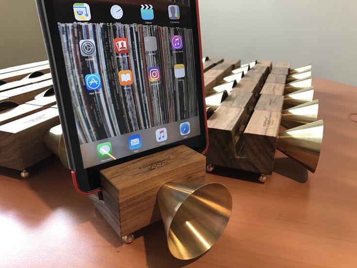 Altavoz Retro para iPad Mini