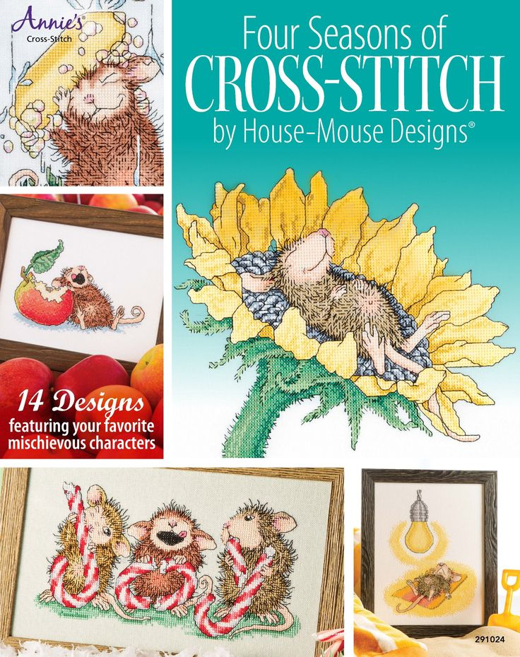 FOUR SEASONS OF CROSS-STITCH BY HOUSE-MOUSE DESIGNS 2014