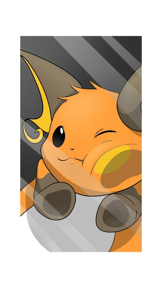 Pokémon - 026 Raichu art by tojikomete mita (Sankaku Channel)