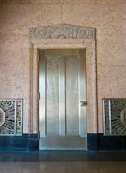 Art Deco Door   Kansas City Power Light Building   106 West 14th Street,  1330