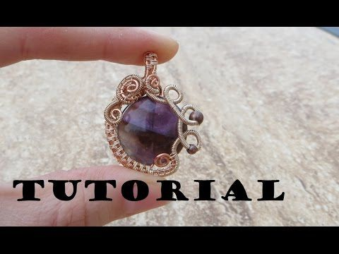 ▶ Tutorial/Demo: Wire Wrapped Gemstone Pendant - YouTube