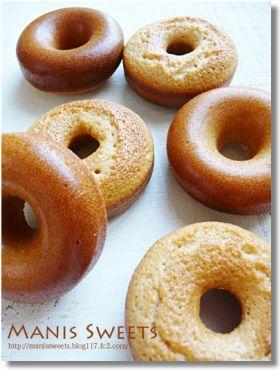 「焼きドーナツ フィナンシェ風」*Manis* | お菓子・パンのレシピや作り方【corecle*コレクル】