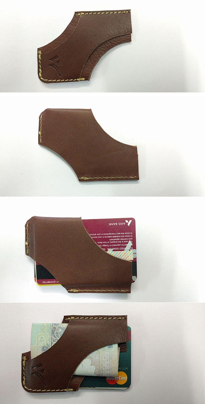 Creative and Unique Pure Lather Card Holder @ WalletVilla.com