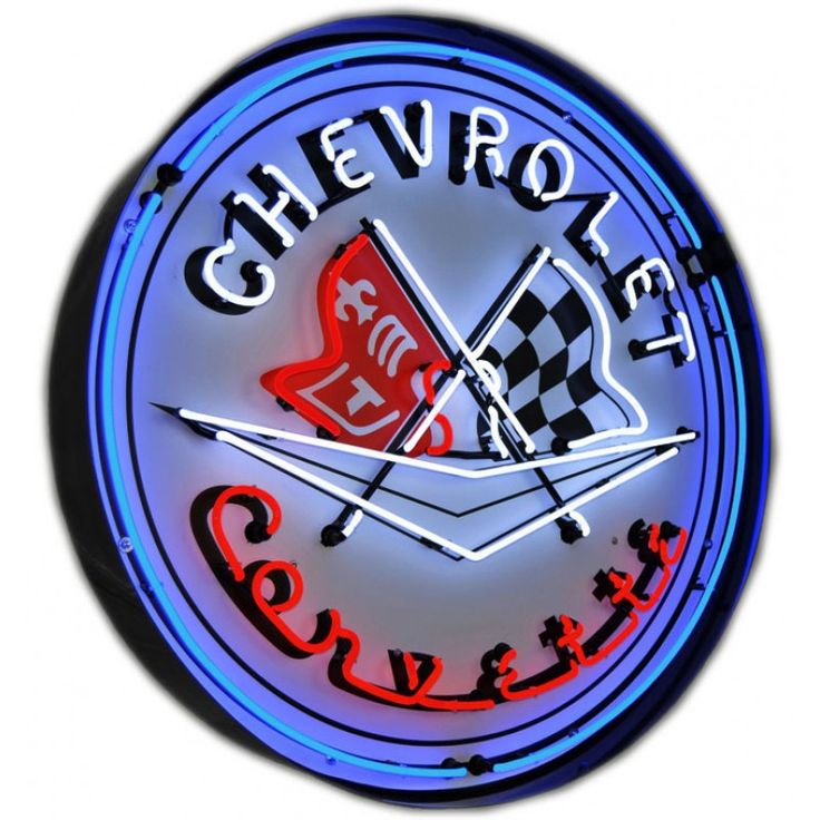 Find best Corvette Flags Neon Sign for sale, Affordable Corvette Flags Neon Sign, 2 years of quality warranty, 100% undamage guaranteed.