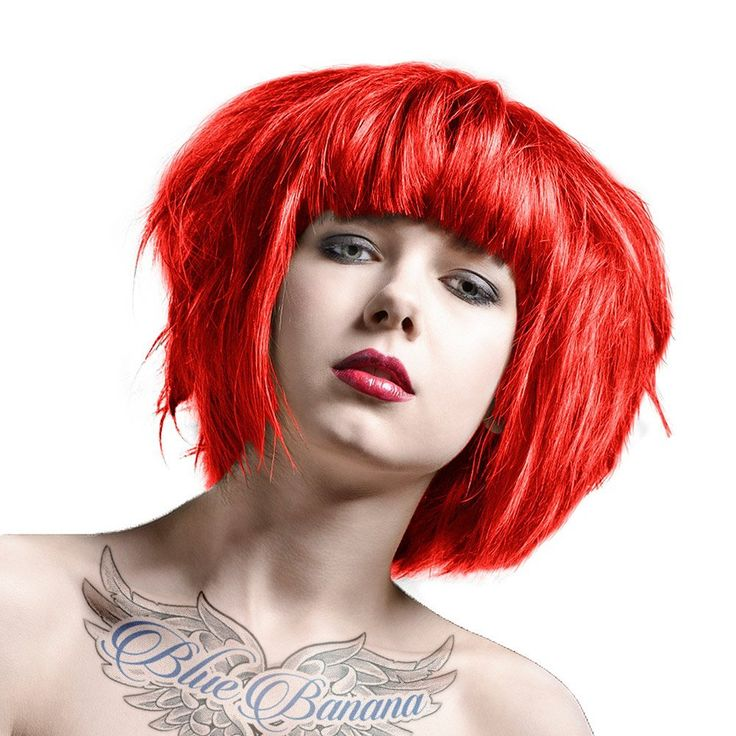 La Riche Directions 4 Pack Of Semi Permanent Hair Dye / Hair Colour (4 x 88ml) - Poppy Red by La Riche * Click image for more details. #haircolor