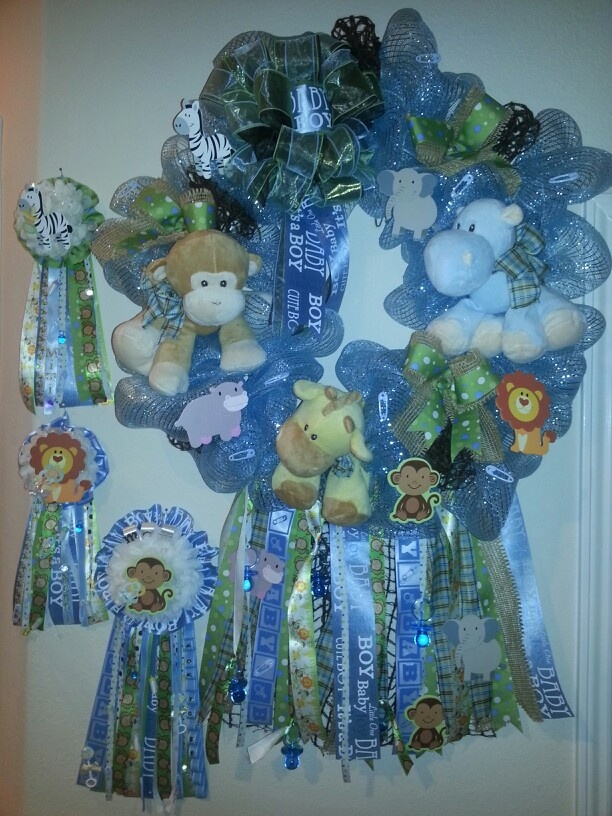 baby shower mum boy shower baby wreaths diaper cakes pregnancy shower