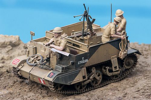 Universal Carrier and 6 Pdr Anti-tank, North Africa