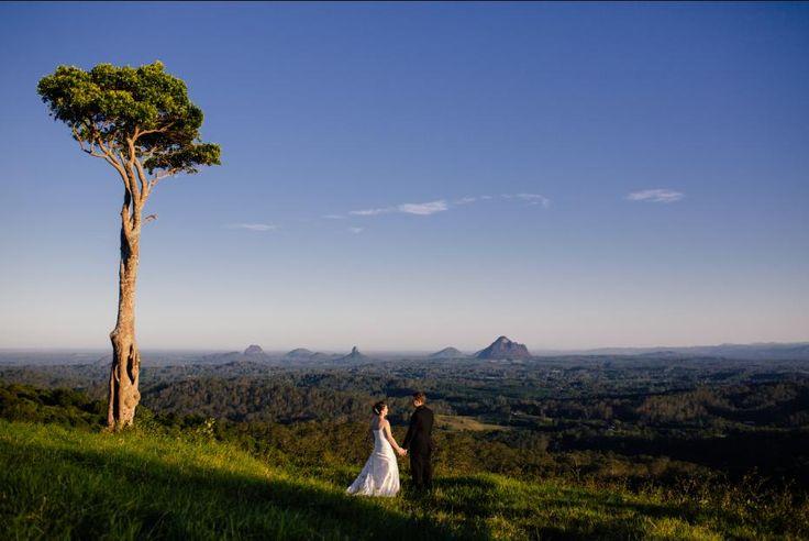 ELOPE Maleny Manor -Maleny Sunshine Coast -Queensland- Best Ceremony Venue Australia ABIA  #visitsunshinecoast #malenyweddings Elopement shoot Manor and One Tree Hill