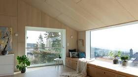 Brent kledning og fantastisk utsikt – et hus som skiller seg ut -adressa.no