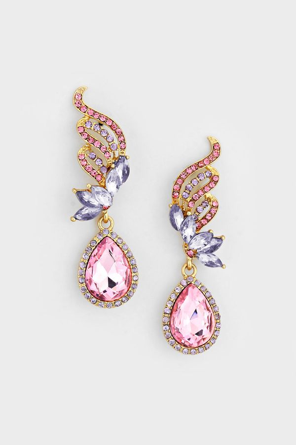 Crystal Tiffany Earrings in Aspen Orchid
