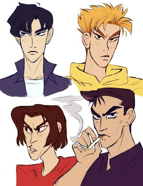 Initial D, Red Suns, Night Kids