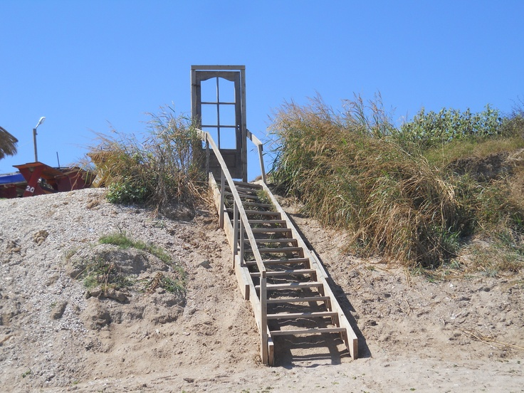 Entry for the beach - Vama Veche, Romania by Briela Gabriella
