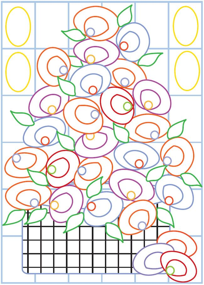 Welcome To Dover Publications Creative Haven Fabulous Flowers Designs With A Splash Of Color
