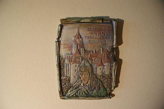 Aplica ceramica hrisovBran Dracula