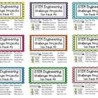 This is a HUGE collection of 90 STEM Engineering Challenges!  The last four Ten Packs (#1-#9) that I sell for $15 each are ALL included on this fla...