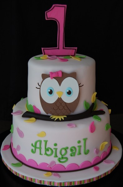 owl birthday - for sophia's
