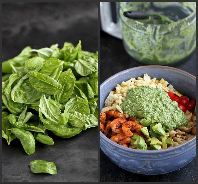 Shrimp, Corn & California Avocado Pasta Salad Recipe | cookincanuck.com