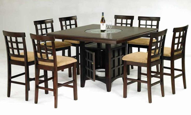 Zuma bar height dining table set For the Home  : 3d57b5a82e1600dfd1151790a7c863b5 from www.pinterest.com size 736 x 445 jpeg 48kB