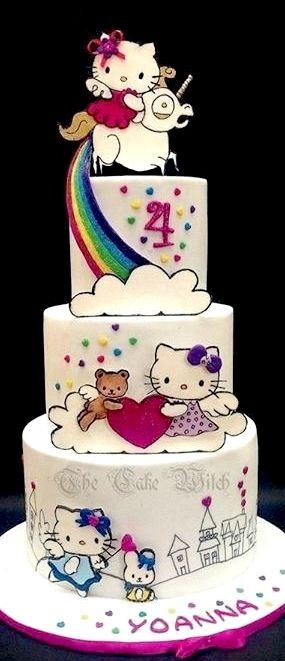 Fairy Hello Kitty Cake
