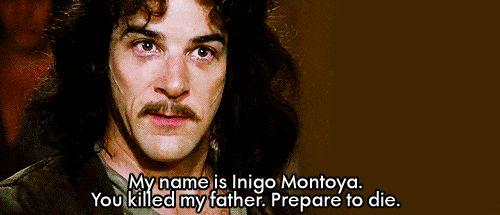 """My name is Inigo Montoya..."" .gif @Mashable"