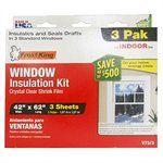 Thermwell 3-Pack 42 x 62-Inch Indoor Window Insulation Sheets