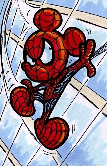 16 Best Images About Mickey Spider Man On Pinterest