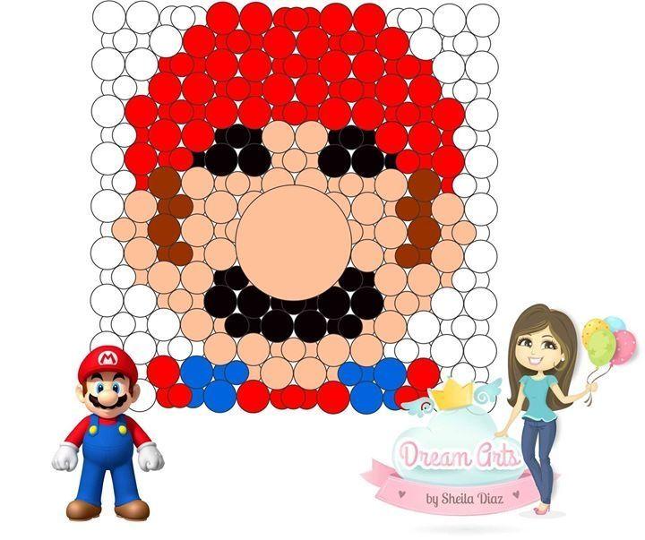 Mario in Alternate Size Square Pack