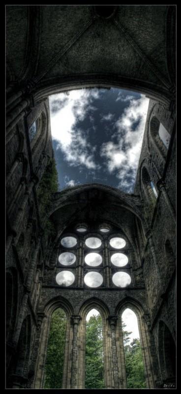 Abbey Ruin #ruins #abandon #architecture #places
