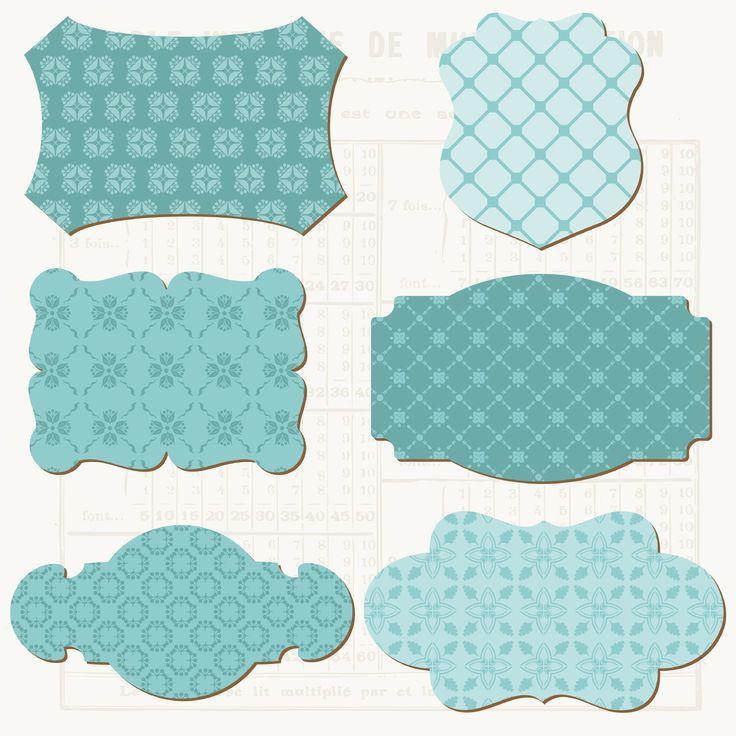 De jolies étiquettes à imprimer - Papiers & scrapbooking - Pure Loisirs