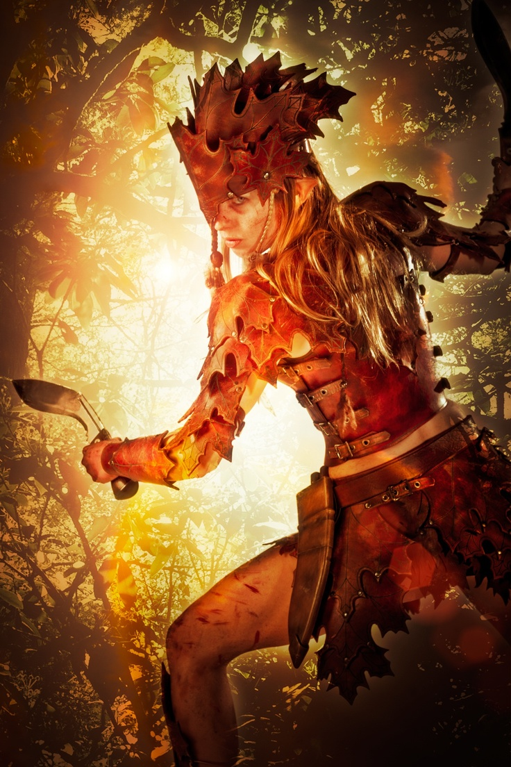 Elven warrior Meren of Aranel by Robert Benevides