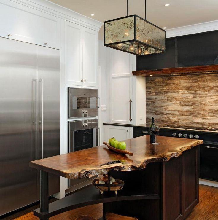 Französisches LandhausKüchemodernes Design, das Ihnen