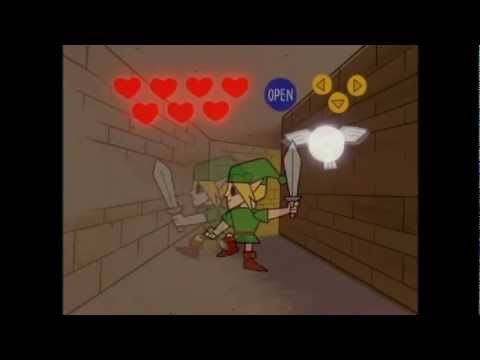 """Link (The Legend of Zelda) in The Powerpuff Girls - YouTube   ... """"Oh, rats! Darn fairy!"""""""