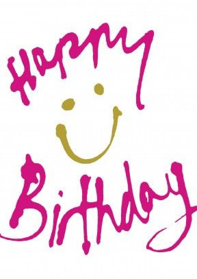 Happy Birthday Smile Card