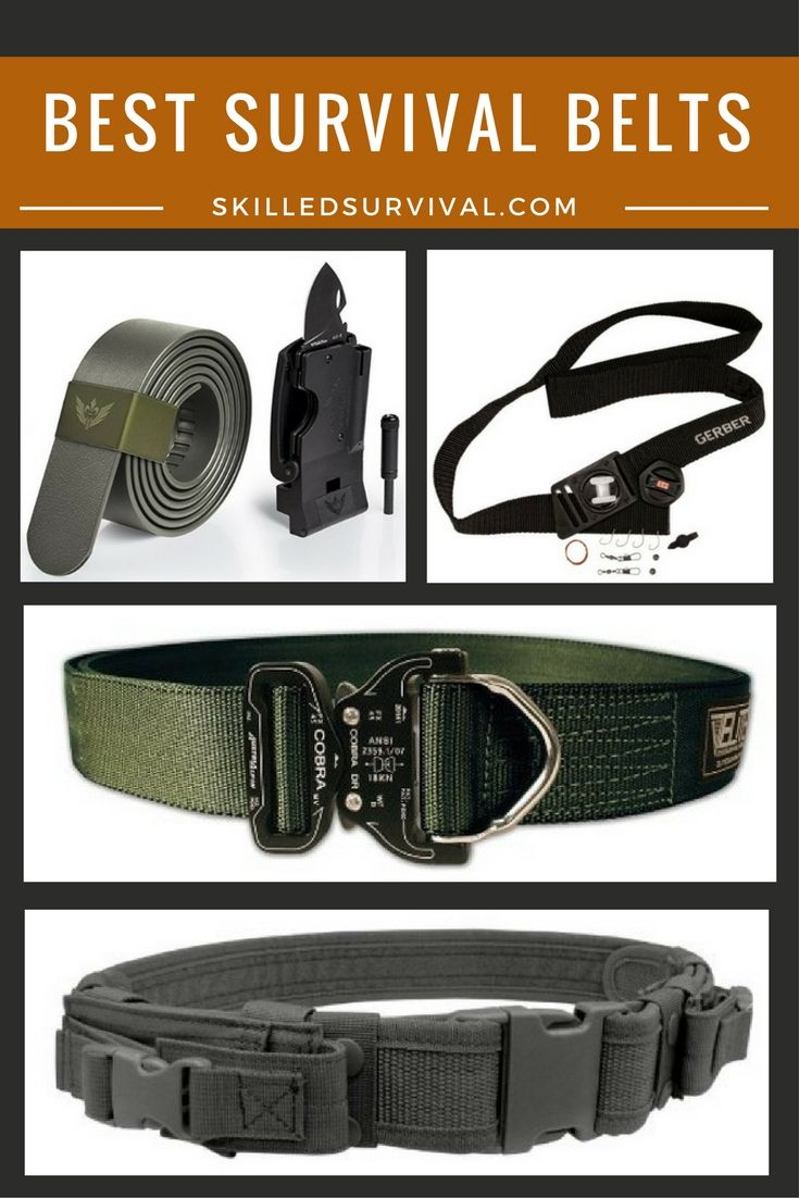 Finding The Right Survival Belt Is An Overwhelming Process. So here Are The Best Survival Belts On The Market Today. Choose Wisely.
