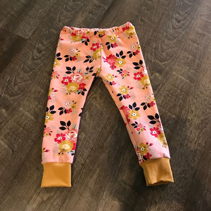 A personal favorite from my Etsy shop https://www.etsy.com/listing/505743351/pink-floral-leggings-sew-twich-trendy