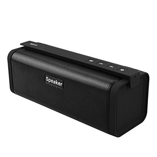 #Portable Bluetooth Speaker with FM Radio Small and portable, the Reacher Bluetooth speaker lets you listen to your music, videos or games wherever you are. Put...