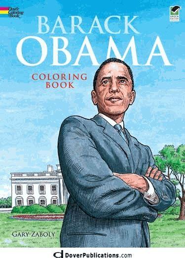 Barack Obama's Books Clip Art