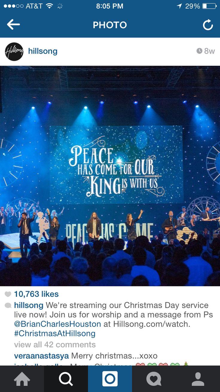 Hillsong Christmas Stage
