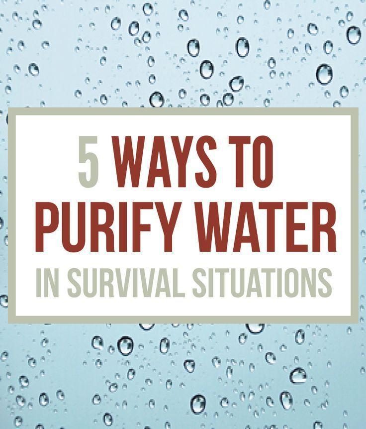 How To Purify Water - Survival Water Purification | Survival Prepping Ideas, Survival Gear, Skills & Emergency Preparedness Tips - Survival Life Blog: survivallife.com #survivallife