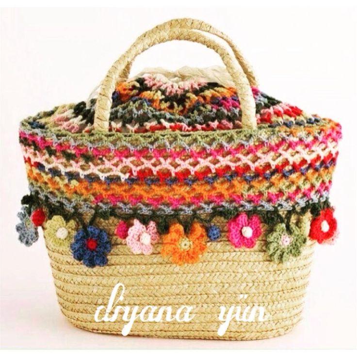 """""""#croche #crochet #çantaipi #çantasapı #örgü #örme #örgüçanta #knit #kadın #knitting #mode #model #motif #mantadecrochê #dükkan #doğaliplik #appleyün #hobi…"""""""