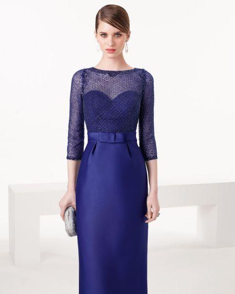 Los 33 vestidos de fiesta largos más lindos para lucir ultra elegante en una boda: Tus mejores aliados Image: 6