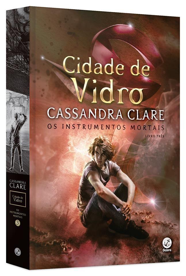 Pré-Venda   Box edição Luxo Os Instrumentos Mortais, de Cassandra Clare - Cantinho da Leitura