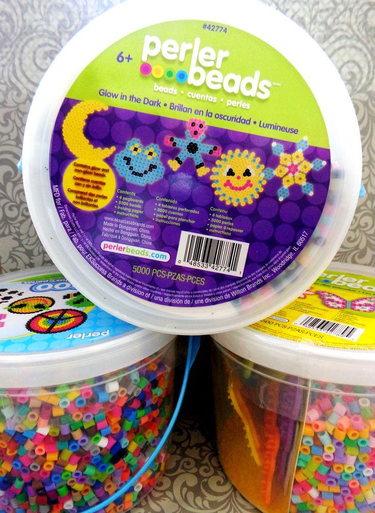 Perler Fuse Bead Activity Buckets