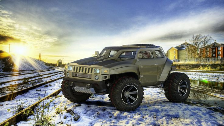Hummer HB Concept Photo Gallery - Autoblog