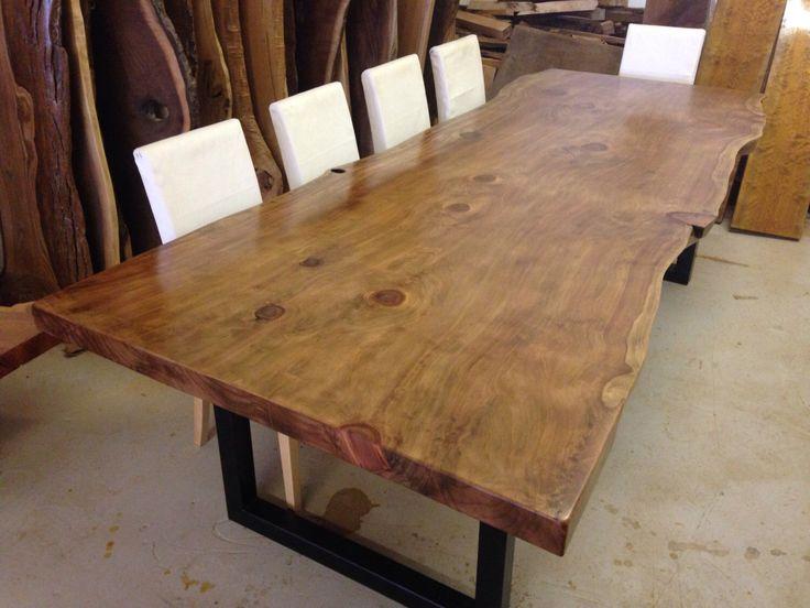 Best 25 Wood Slab Dining Table Ideas On Pinterest Wood